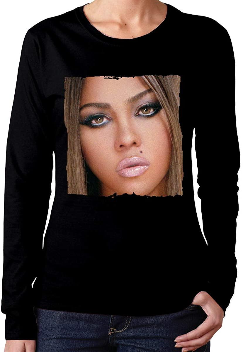 Women's Lil' Kim The Naked Truth Long Sleeve T-Shirts Black