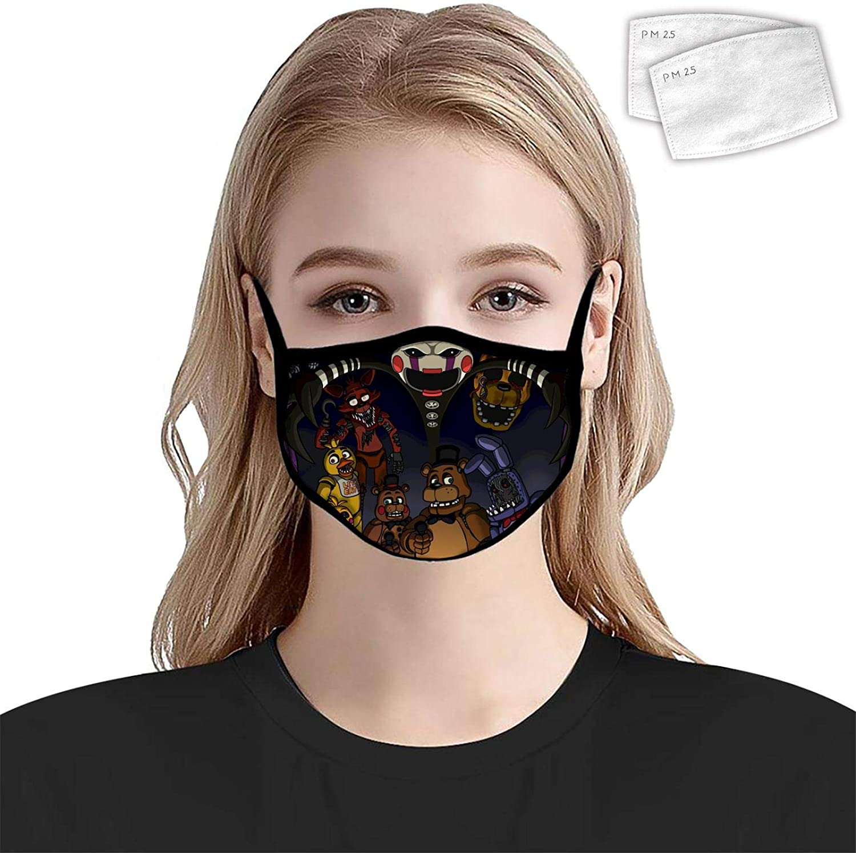 Isra-el ades-anya Anti Dust Mouth Women Mens Face Windproof Unisex Washable & Reusable Adjustable Earloop