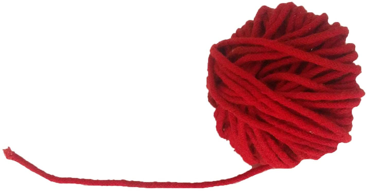 Black Cotton Thread(1 mm Thick)-Kala DHAGA- Nazar -Black String-Kalwa RAKSHA Sutra-Evil Eye Protection THREAD-30 Meters,Valentine Day Gifts (Red Cotton)