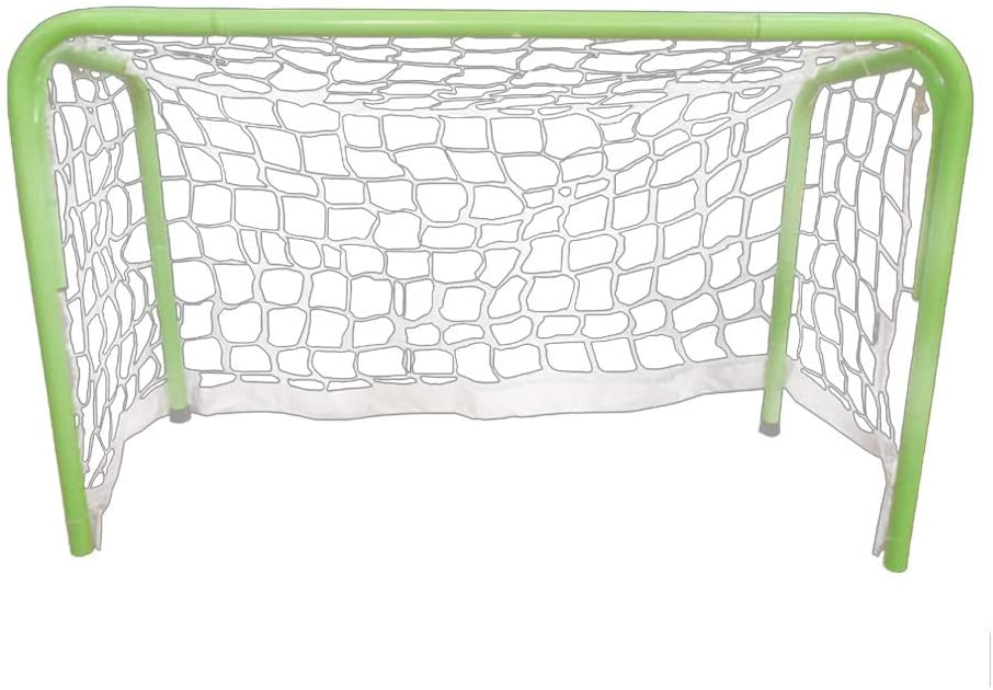 Tuuertge Soccer Goal Pop up Sports Football Goal Children's Football Gate Sports Outdoor Sporting Goods Portable Iron Football Gate Soccer Goal Backyard for Kids (Color : Green, Size : One Size)