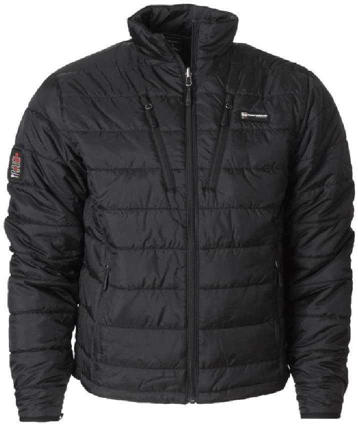 Banded H.E.A.T. Insulated Liner Jacket-Short, Color: Black (B1010034-BK)