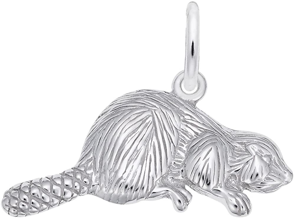 Beaver Charm, Charms for Bracelets and Necklaces
