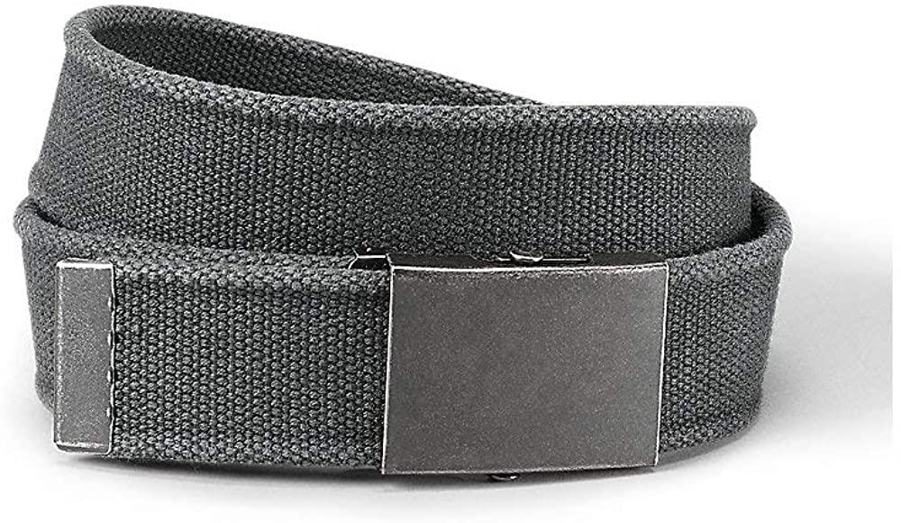 Eddie Bauer Men's Web Plaque Belt