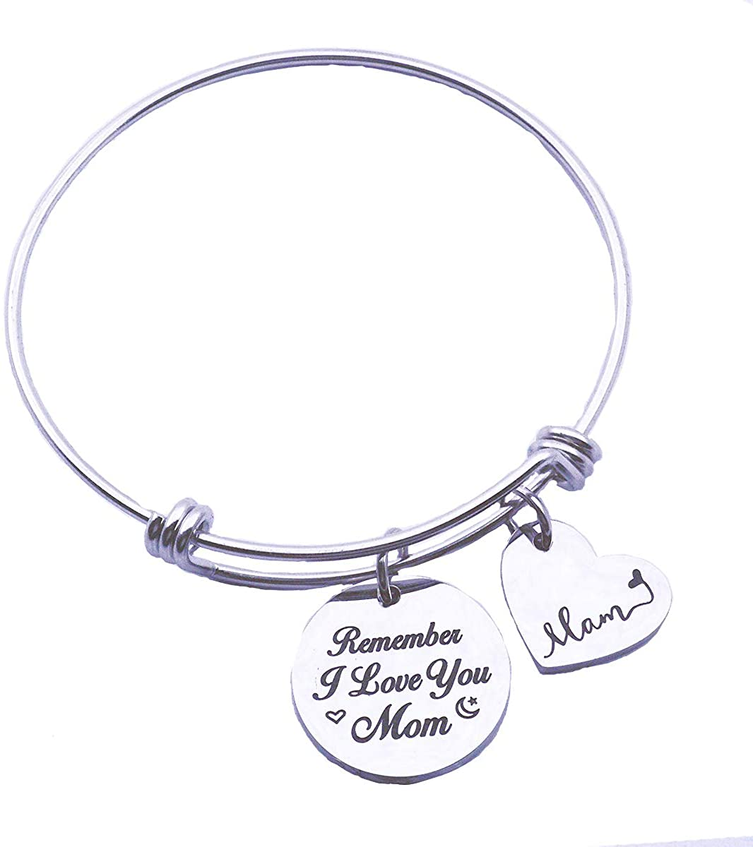 SNOWLIN Mother Adjustable Bracelet Mother in Law Bracelet Mother of The Groom Cuff Bangle Marriage Made You Family Love Made You My mom