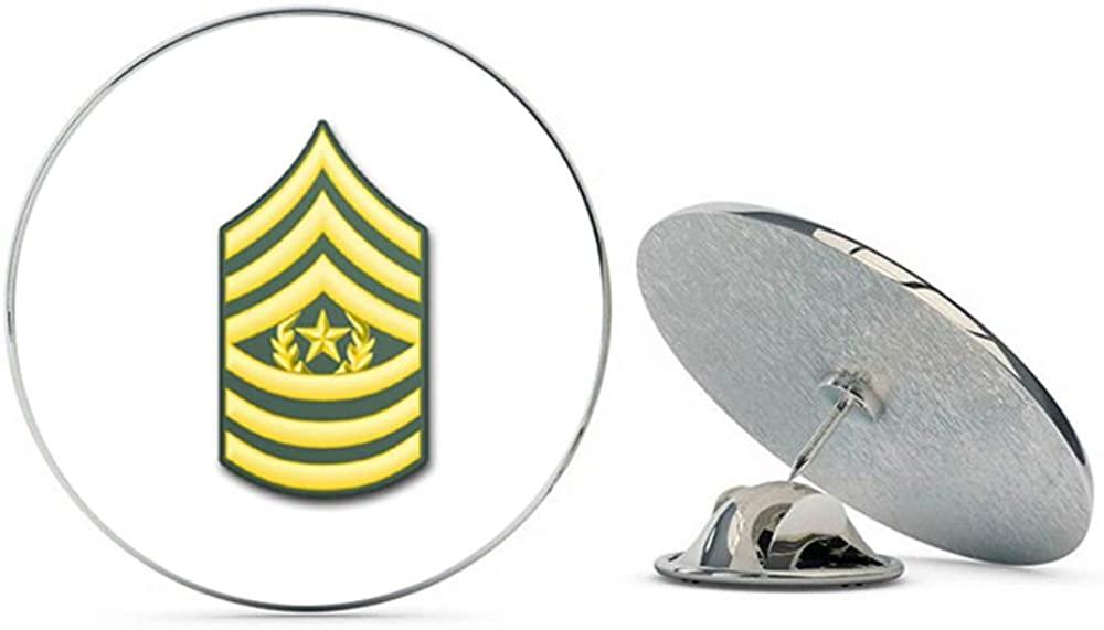 Veteran Pins U.S. Army E-9 Command Sergeant Major Metal 0.75