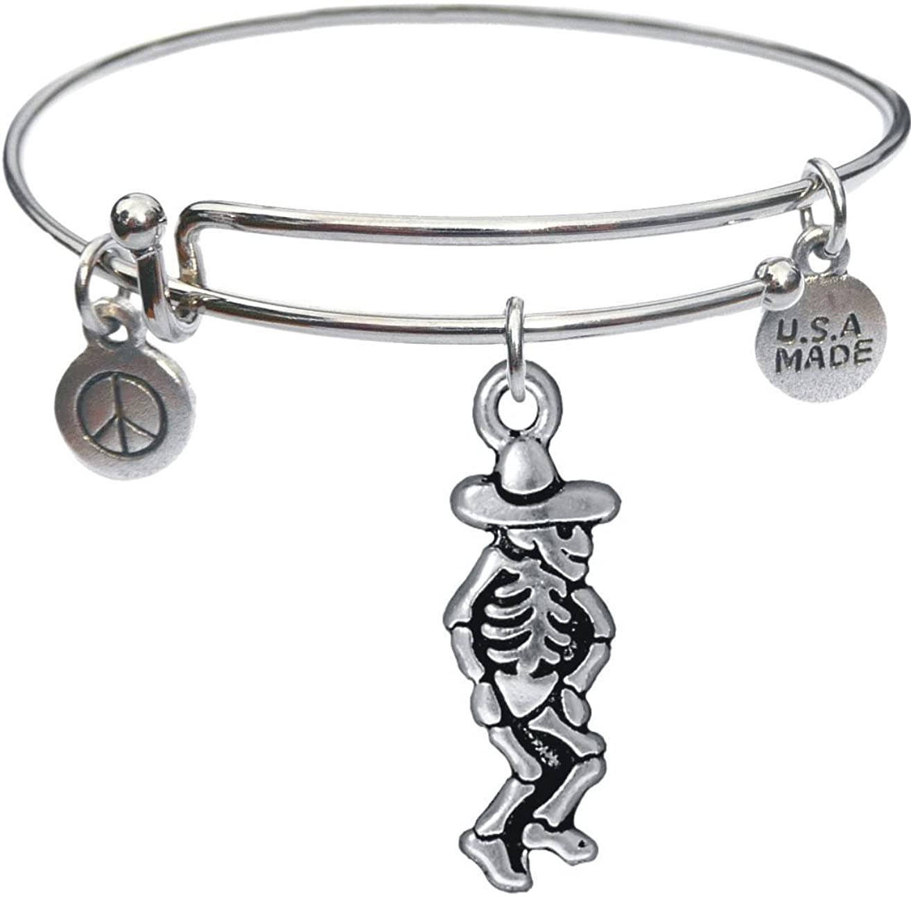 Bangle Bracelet and Dancing Senor Charm