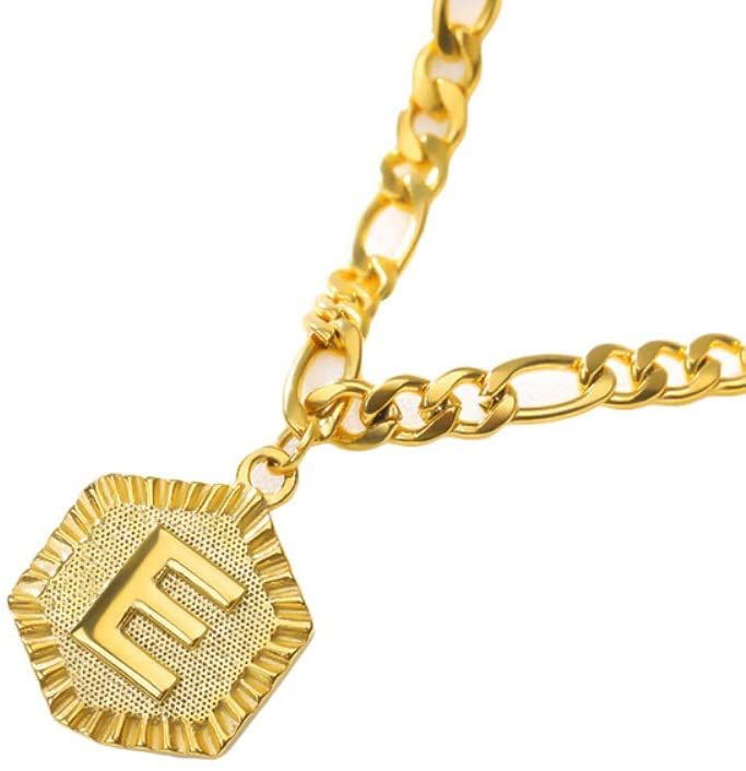 PandaLily Charm Anklets Bracelets Beach Foot Jewelry Fashion Women English Letter Charm Chain Anklet Ankle Bracelet Foot Jewelry Gift for Women Teen Girls E Golden