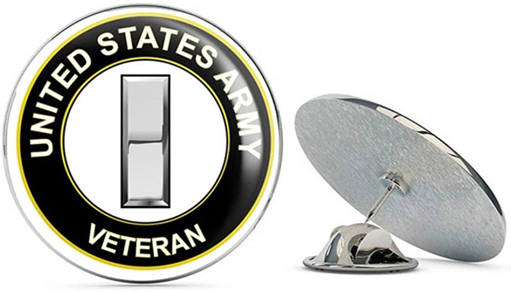 U.S. Army Lieutenant Rank Veteran Metal 0.75