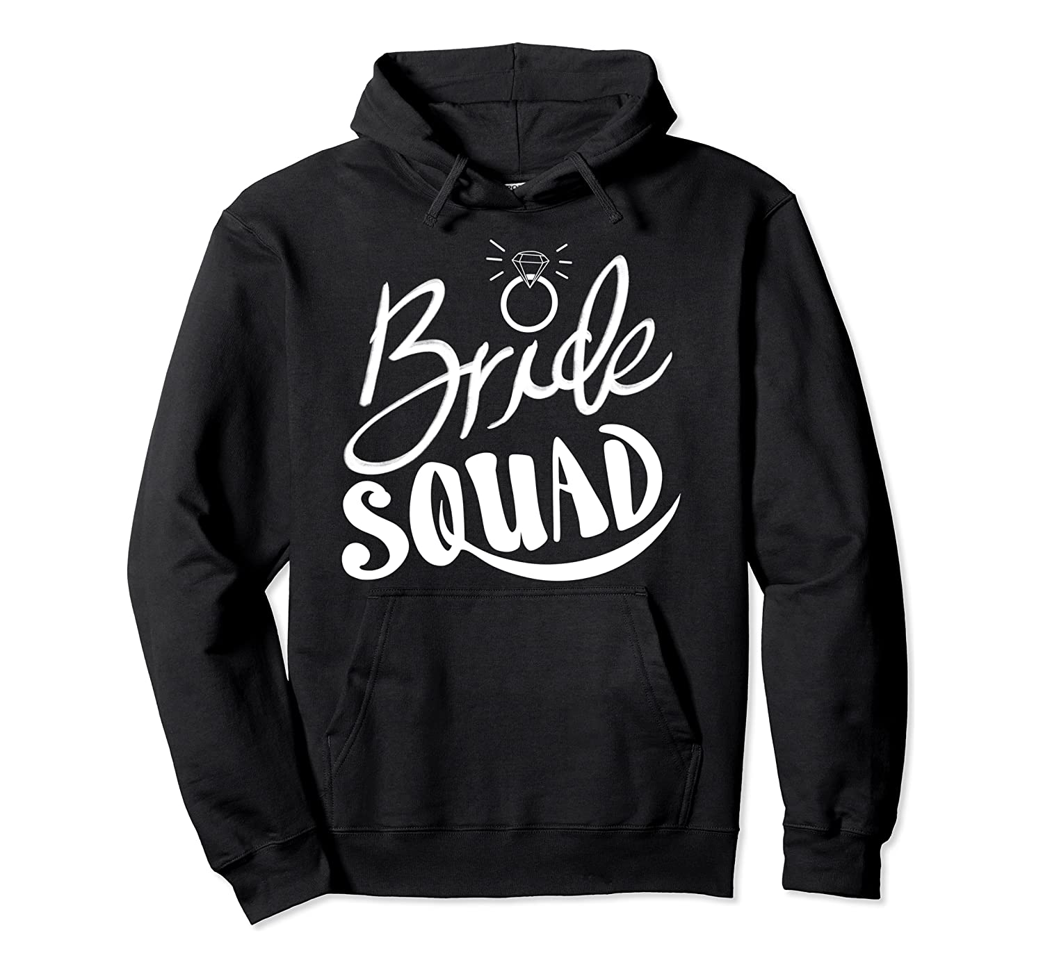 Cool Bride Squad | Funny Engaged Women Group Marriage Gift Pullover Hoodie