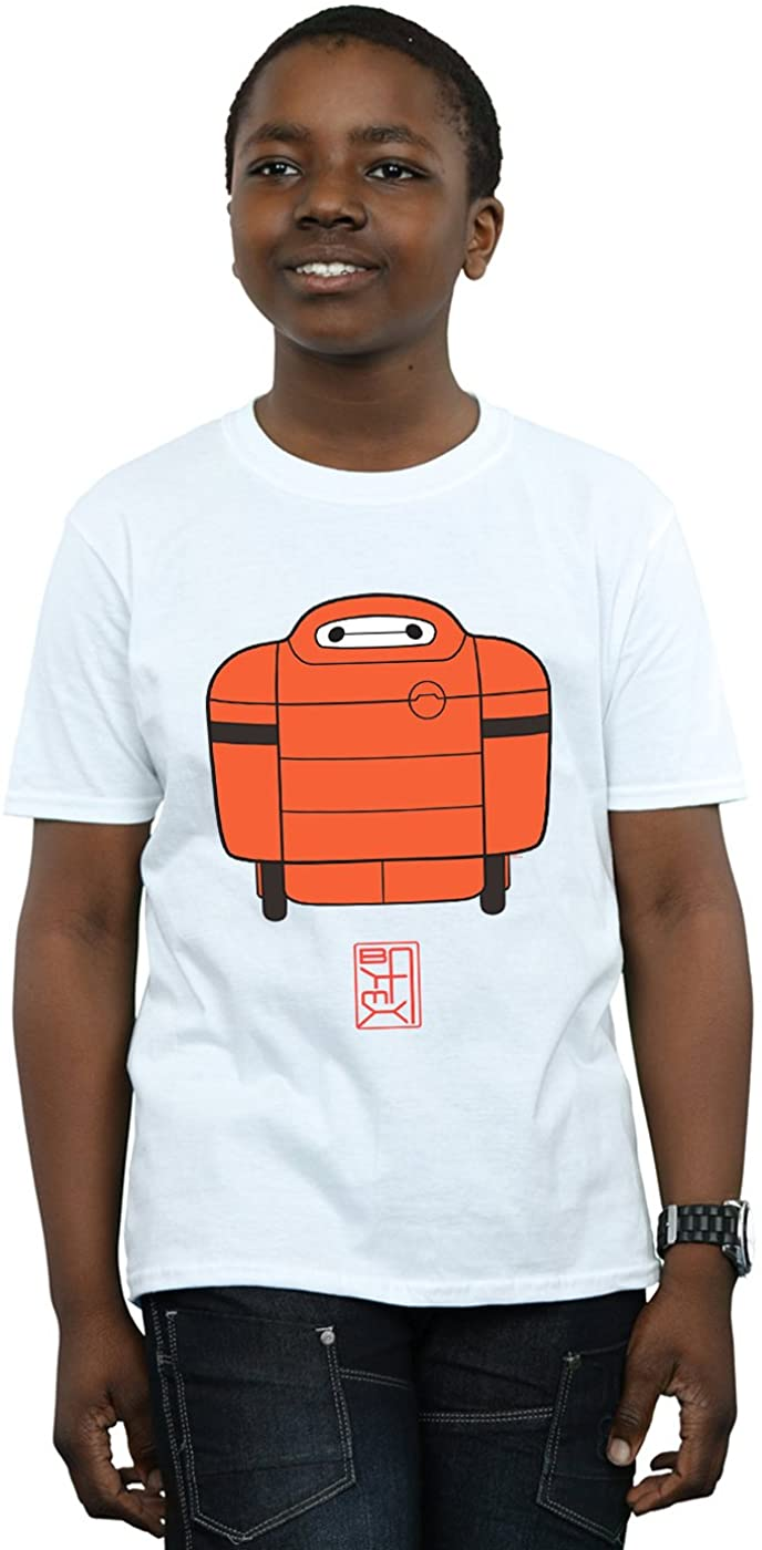 Disney Boys Big Hero 6 Baymax Suit T-Shirt