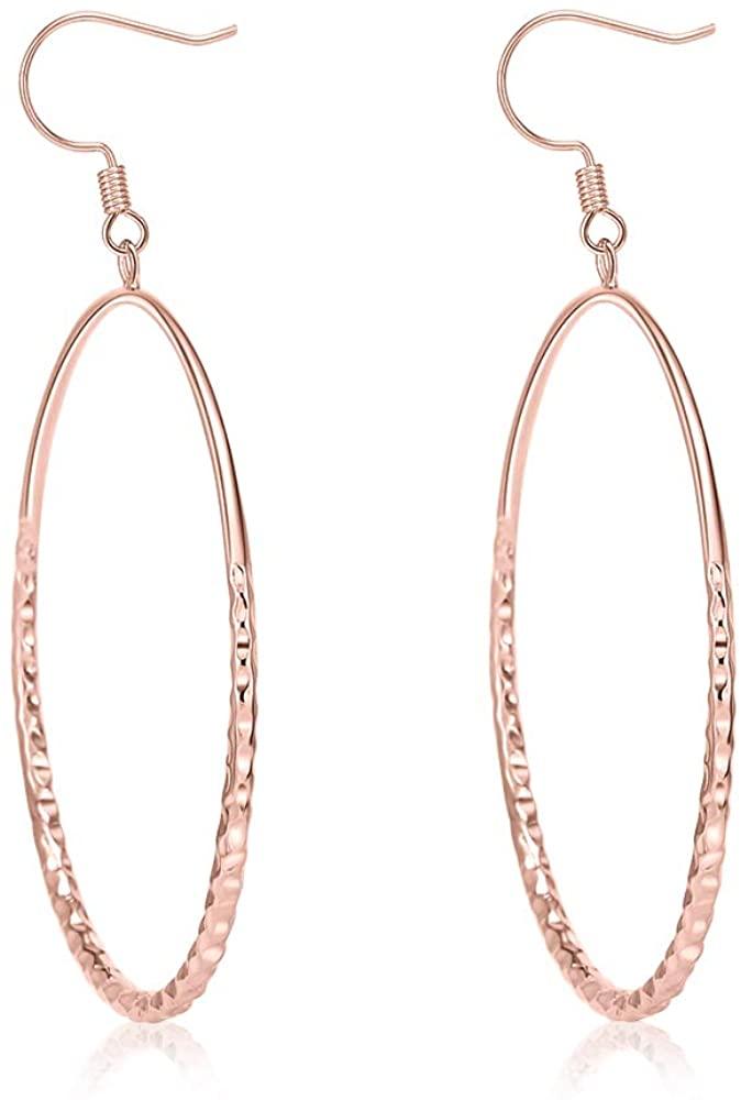 Big Rhombus Hoop Star Earrings Set Dangling Earrings for Women Long Silver Chandelier Earrings Brilliance Geometric Earrings