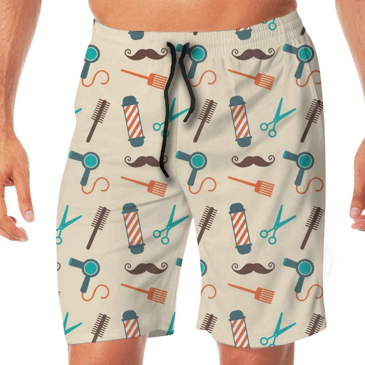 Men's Bathing Suit Swim Trunks Quick Dry Beach Shorts for Beach Gym Hiking
