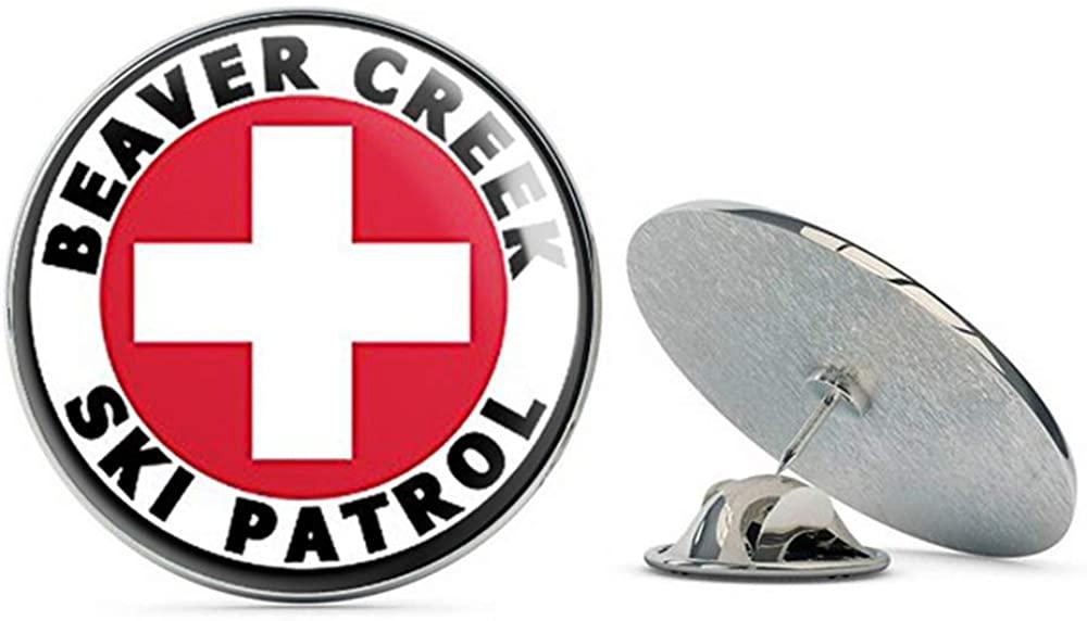 NYC Jewelers Round Beaver Creek SKI Patrol (co Colorado Snow) Metal 0.75