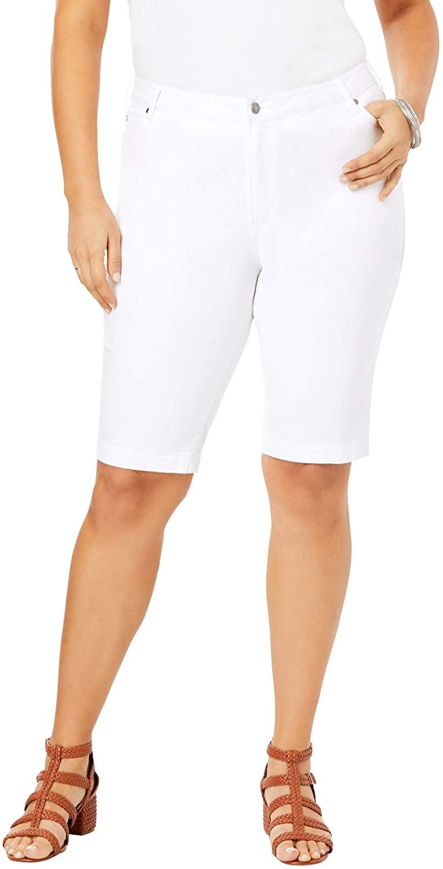 Roamans Women's Plus Size Bermuda Short