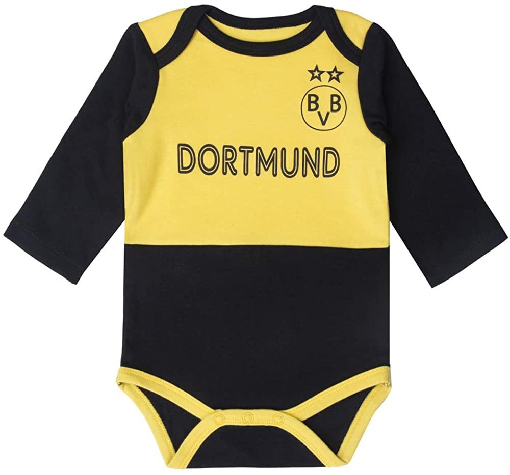 Unisex Baby Boys' Girls Long-Sleeve Onesie Bodysuit | Soccer Baby Onesie Germany Dortmund