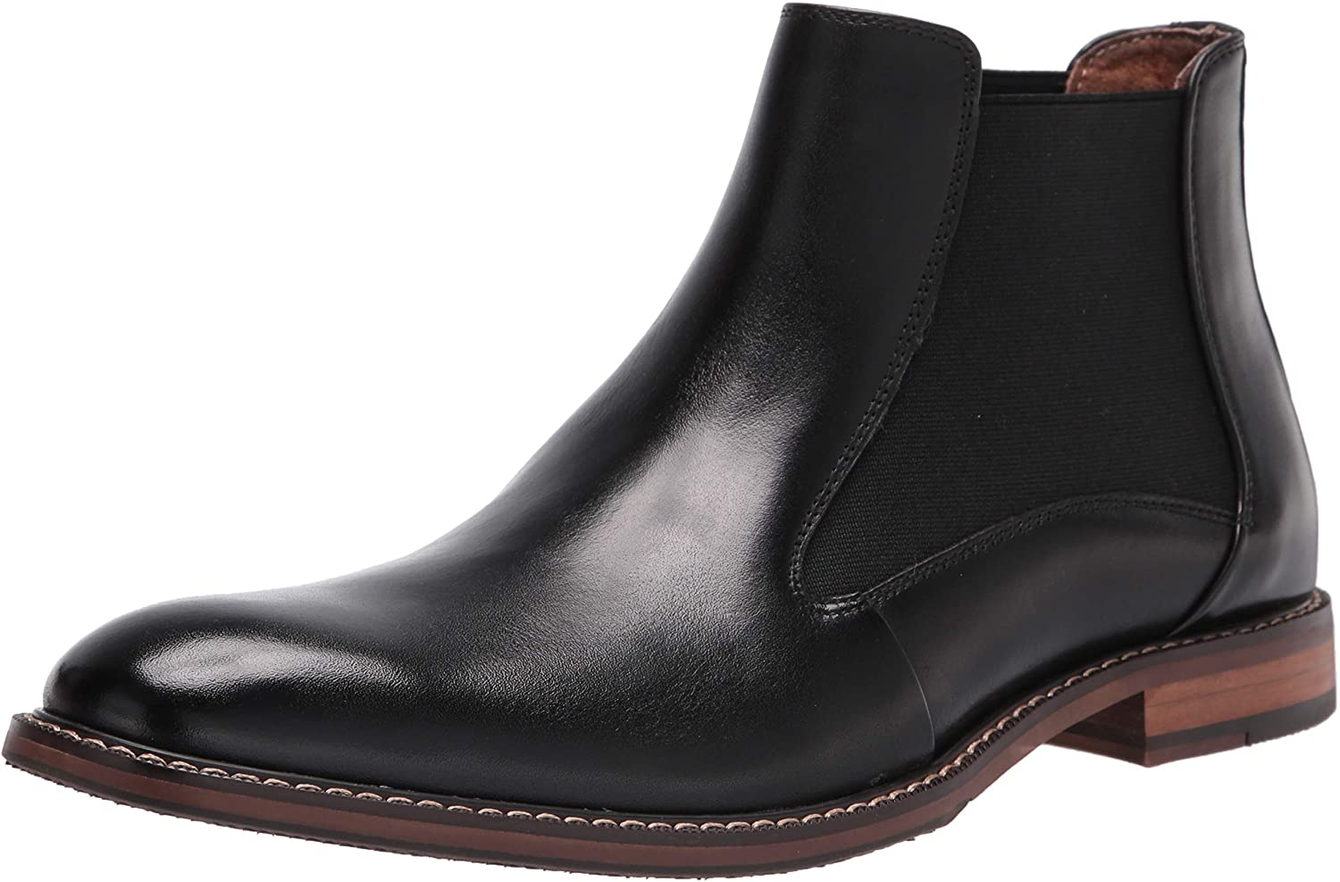 STACY ADAMS Men's Fabian Plain Toe Chelsea Boot