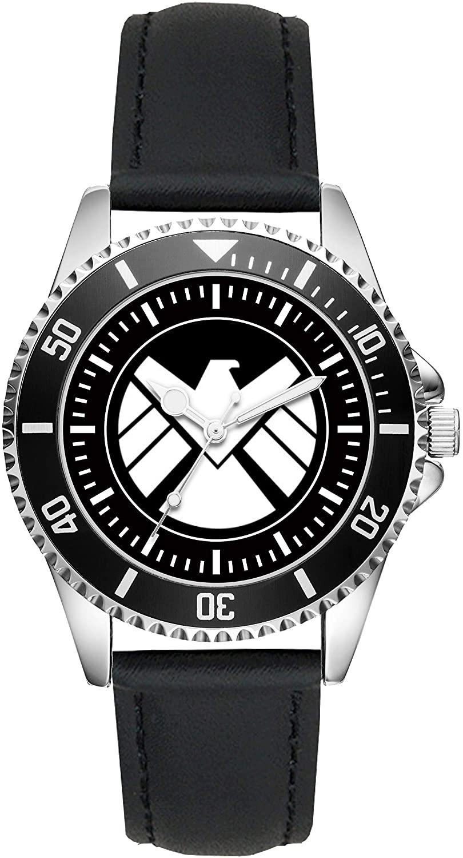 Vintage S.H.I.E.L.D. Logo Motive Gifts Article Idea Fan Watch L-1240