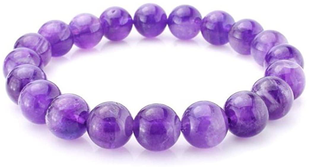 Adabele Natural Gemstone Bracelet 7 inch Stretchy Chakra Gems Stones 8mm (0.31