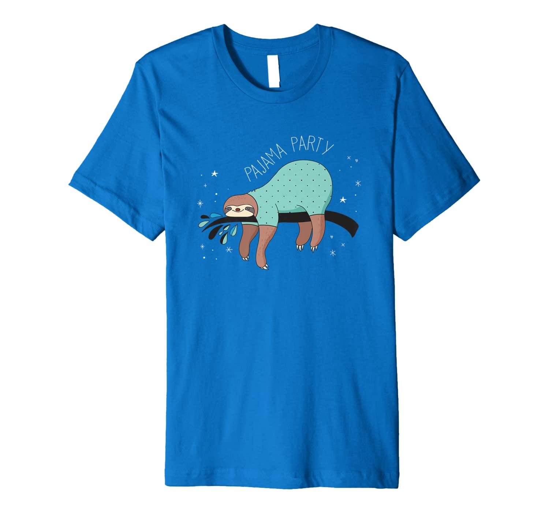 Sloth Pajama Party | Cute Sleeping Sloth Lover Z000001