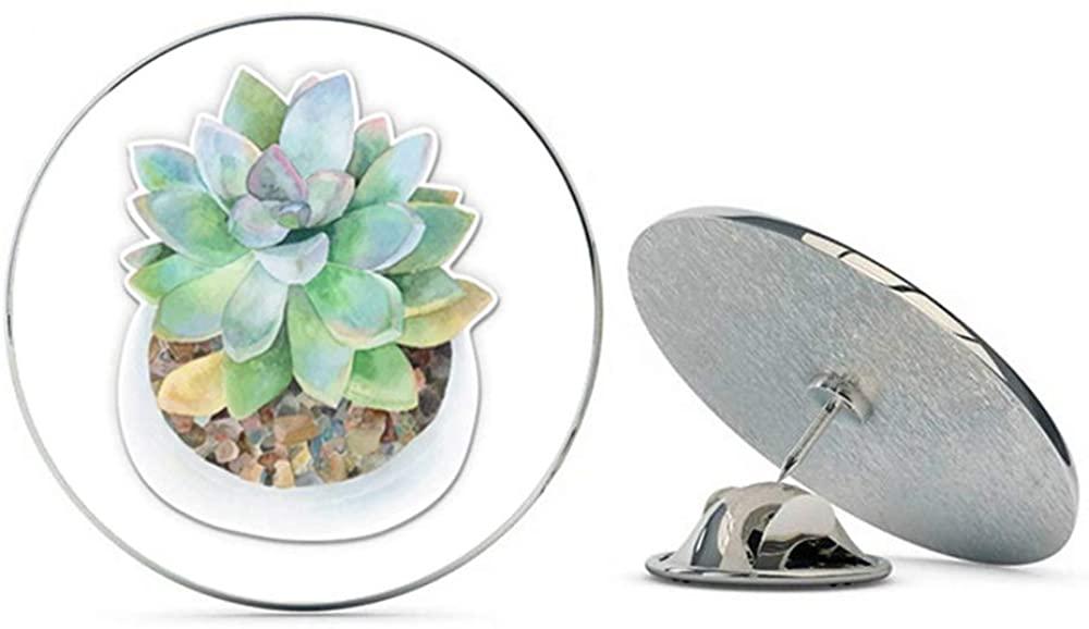 NYC Jewelers Watercolor Succulent in Pot Metal 0.75