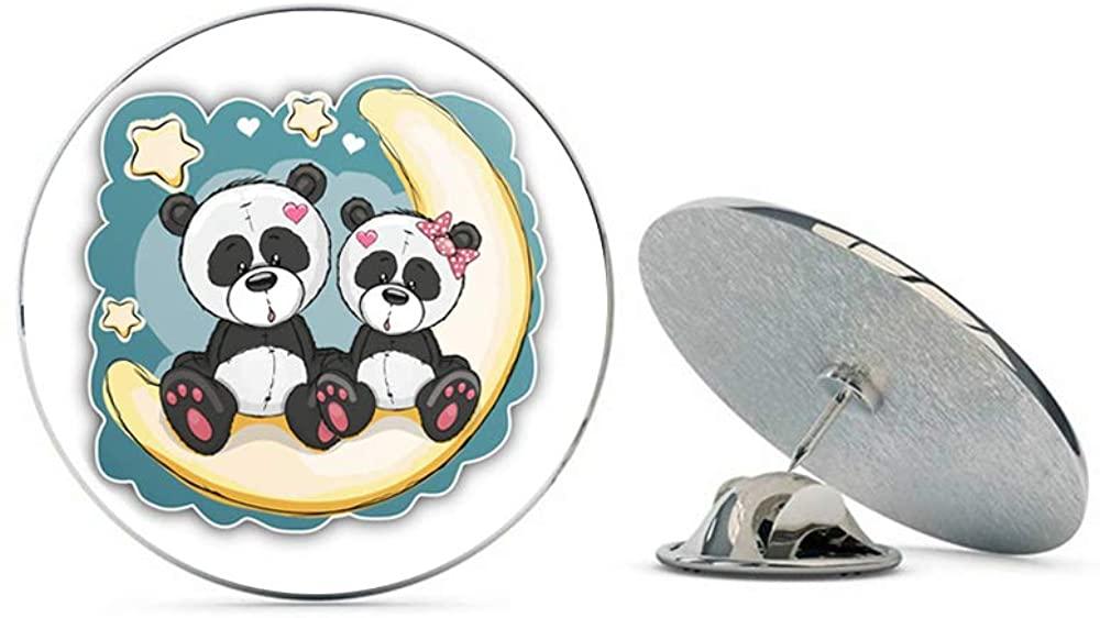 Leyland Designs Cute Pandas Metal 0.75