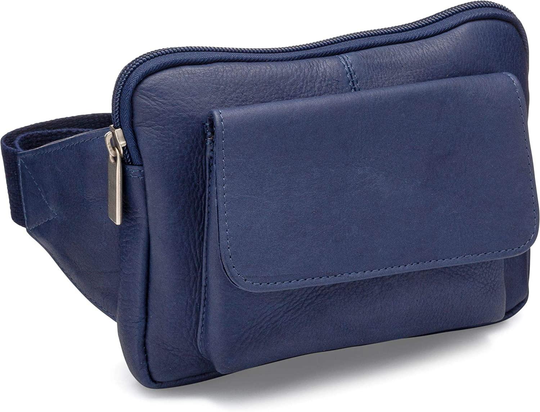 Le Donne Leather Journey Waist Bag – Premium Full-Grain Colombian Vaquetta Leather Fanny Pack, 8