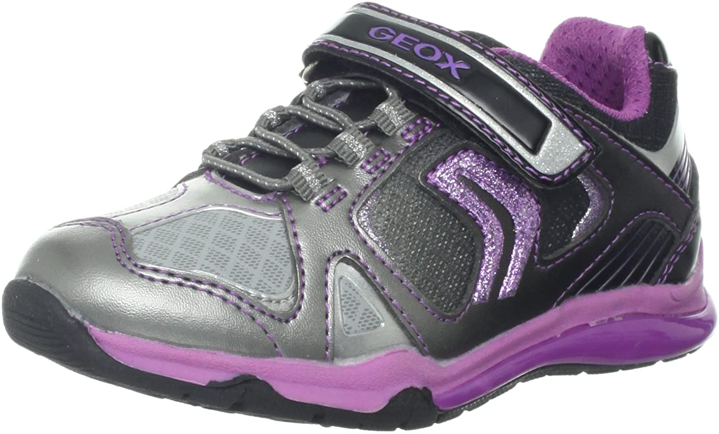 Geox Cmagica12 Lighted Sneaker (Toddler/Little Kid/Big Kid)
