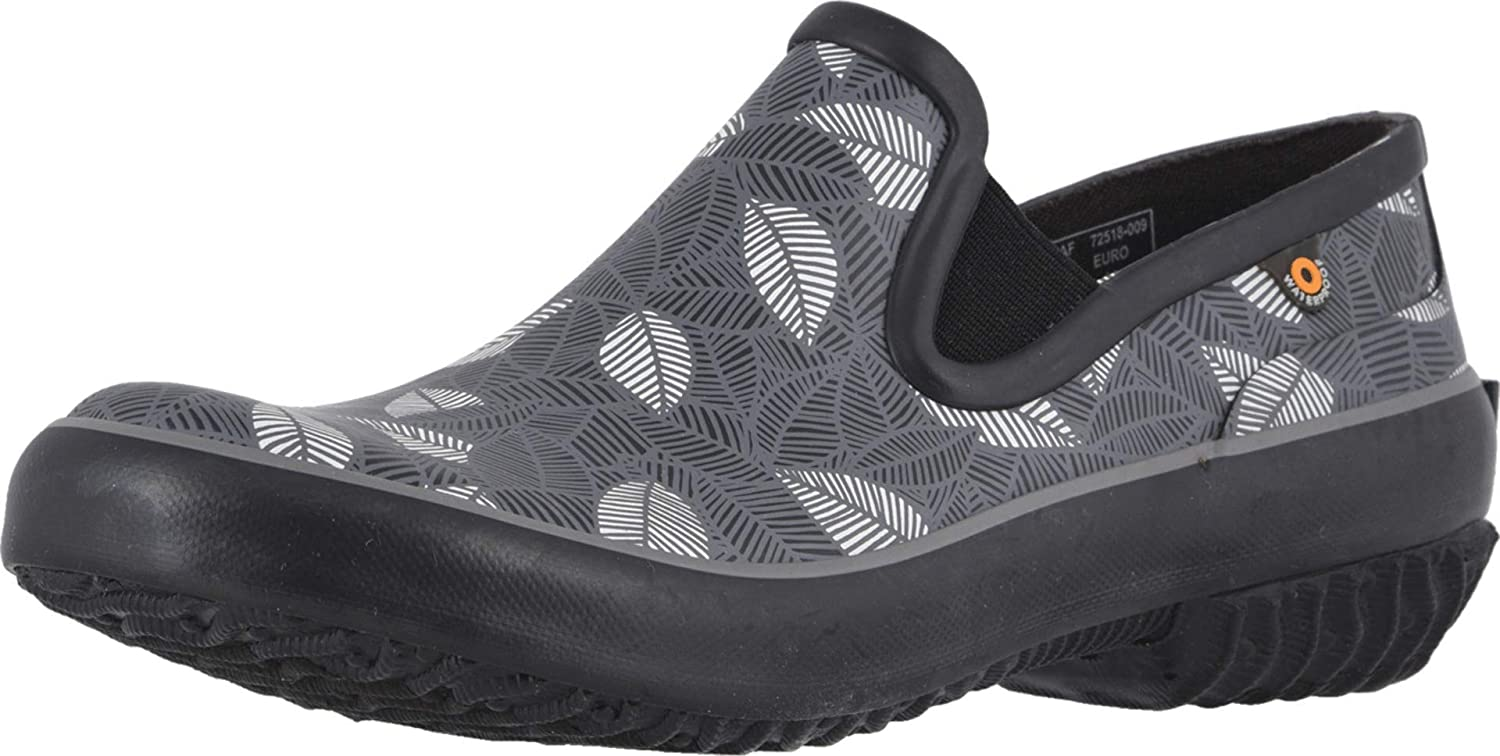 BOGS Women's Patch Slip on Garden Clog