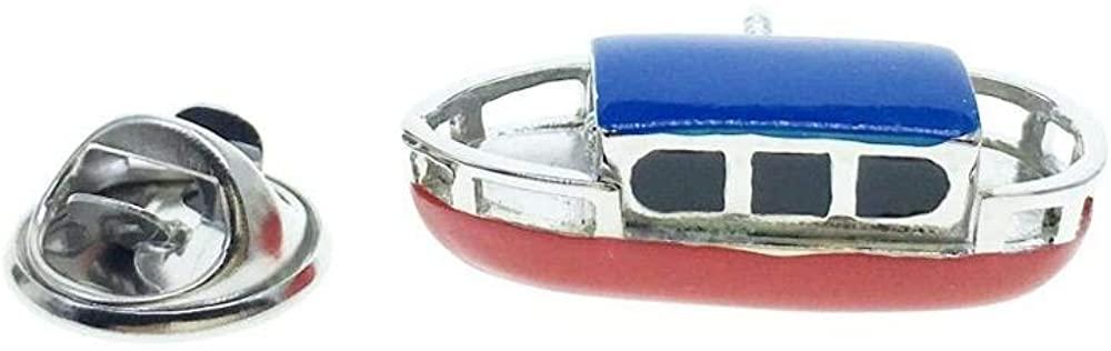 Cuff-Arts Pin Transport Lapel Pin Badges Fashion Brooch Pin with a Gift Box