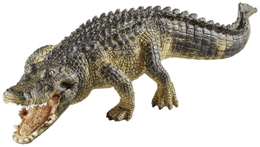 Schleich Wild Life Alligator Educational Figurine for Kids Ages 3-8