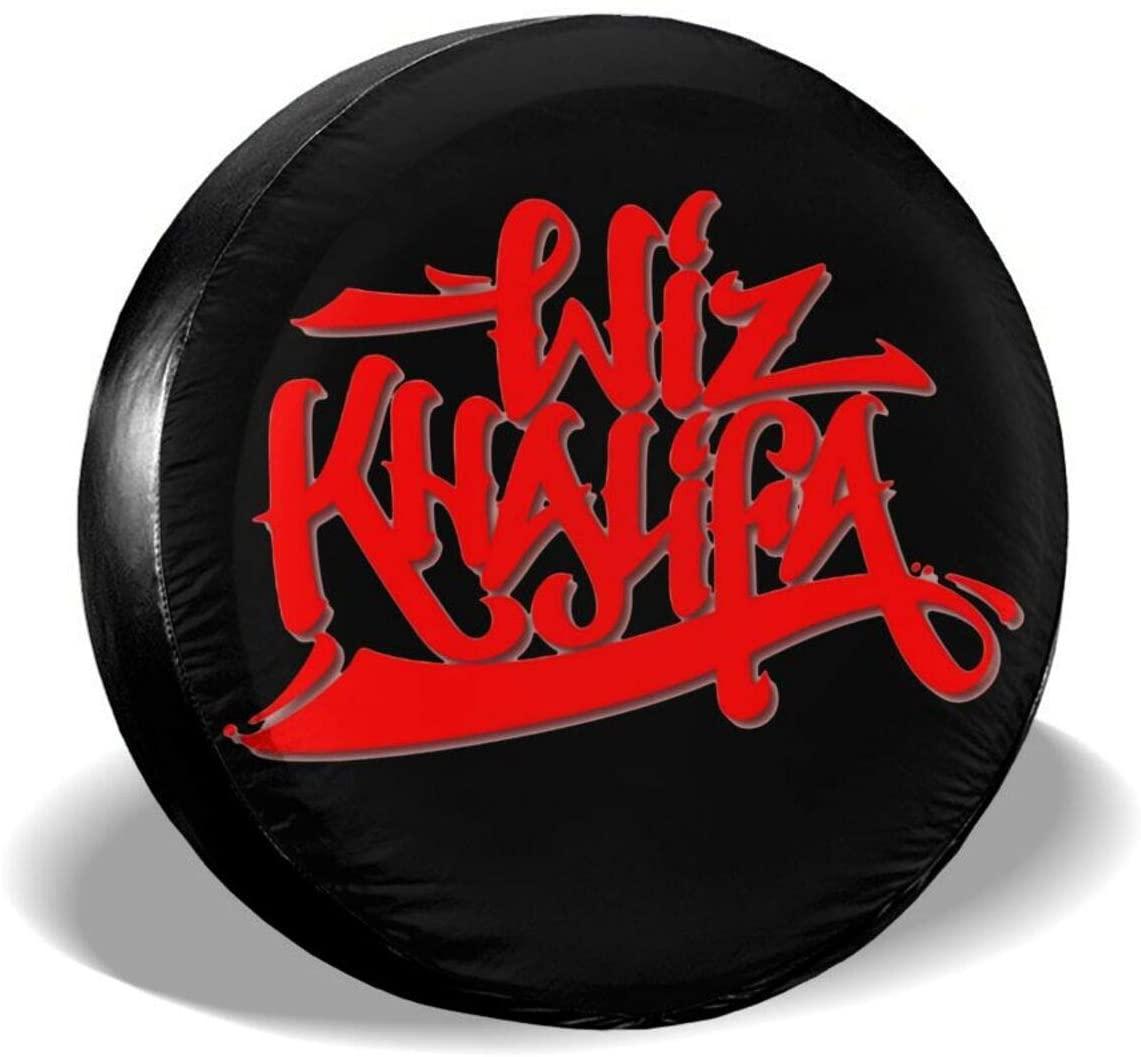 Ajiusmm Wiz Khalifa Tire Covers Tough Tire Wheel Protector Universal Fits Tire (14