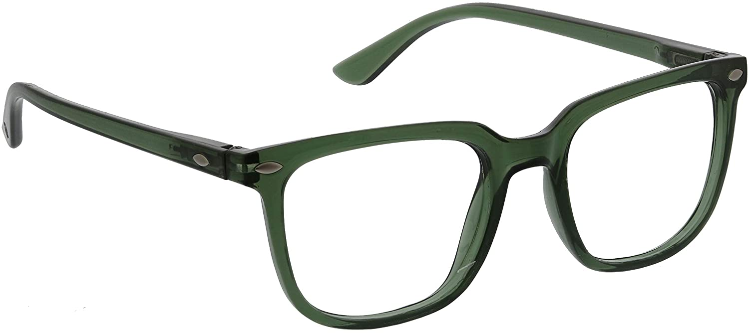 Peepers by PeeperSpecs Tycoon-No Correction Square Reading Glasses