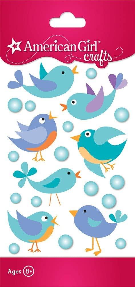 Mixed Bird Stickers