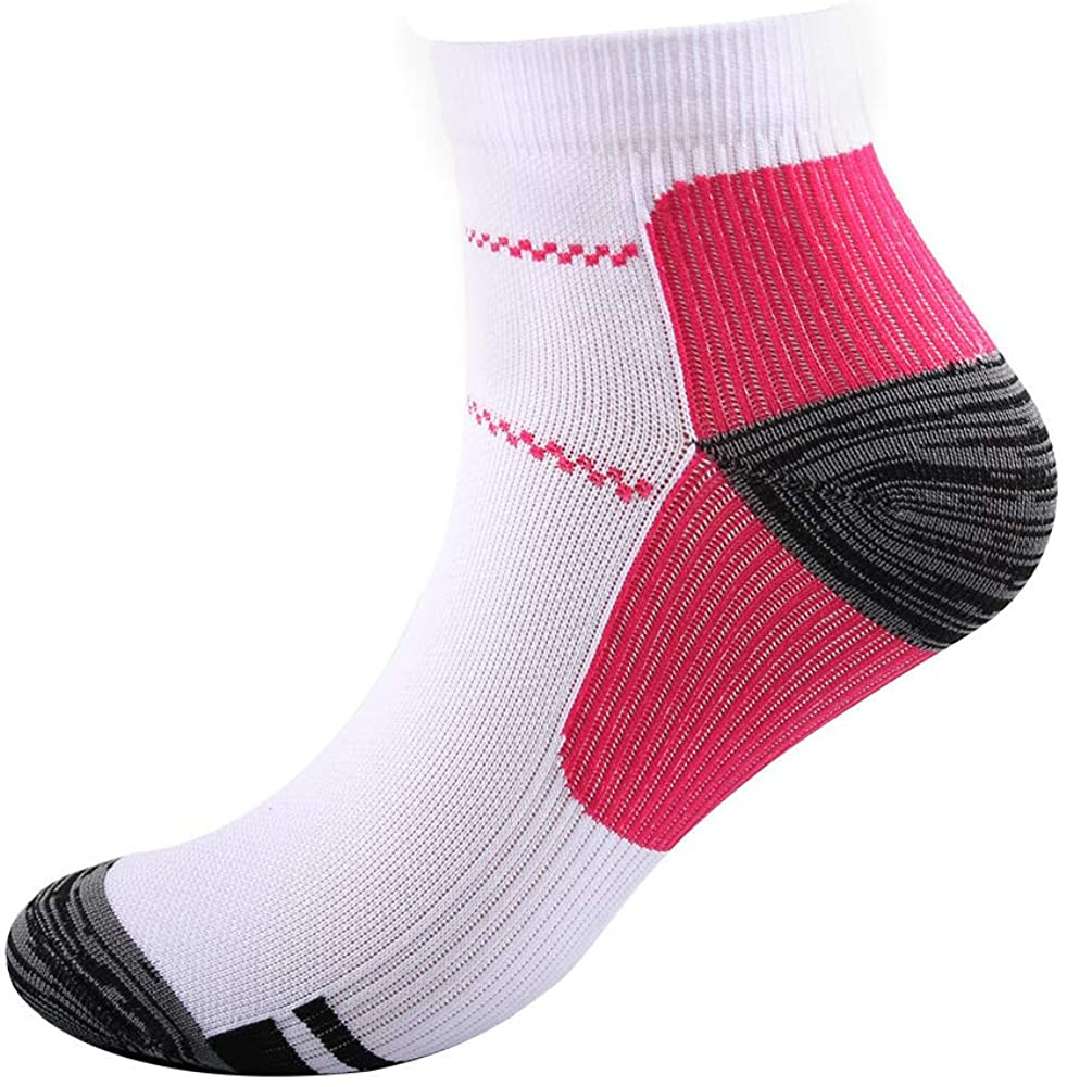 1 Pair Compression Socks Men Women Sport Support Low Cut Running Gym Compression Foot