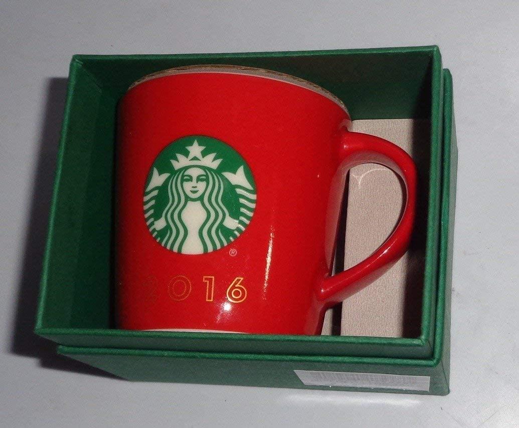 Starbucks Red 2016 Holiday Demi Cup, 3 Fl Oz