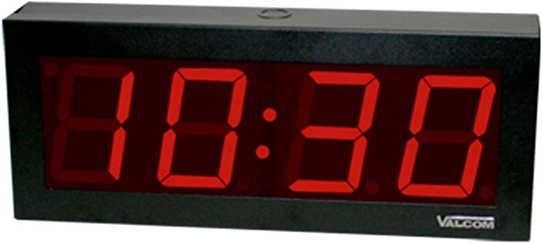 VALCOM VC-VIP-D440 IP PoE 4 Digit 4 Inch Clock White Box