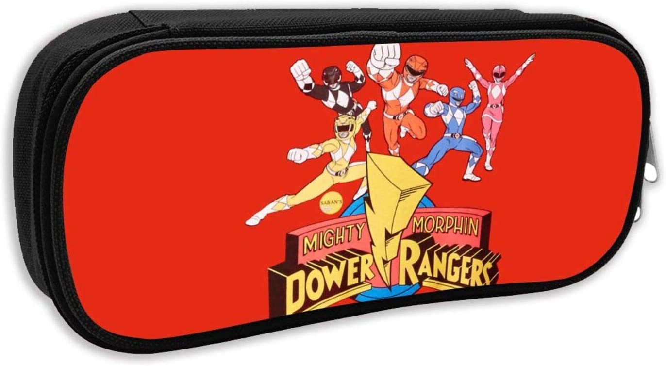 Heart Yan Power Rangers Foldable Pencil Case, Large Capacity Pencil Case, Large Pencil Case, Teen School Cosmetic Bag.