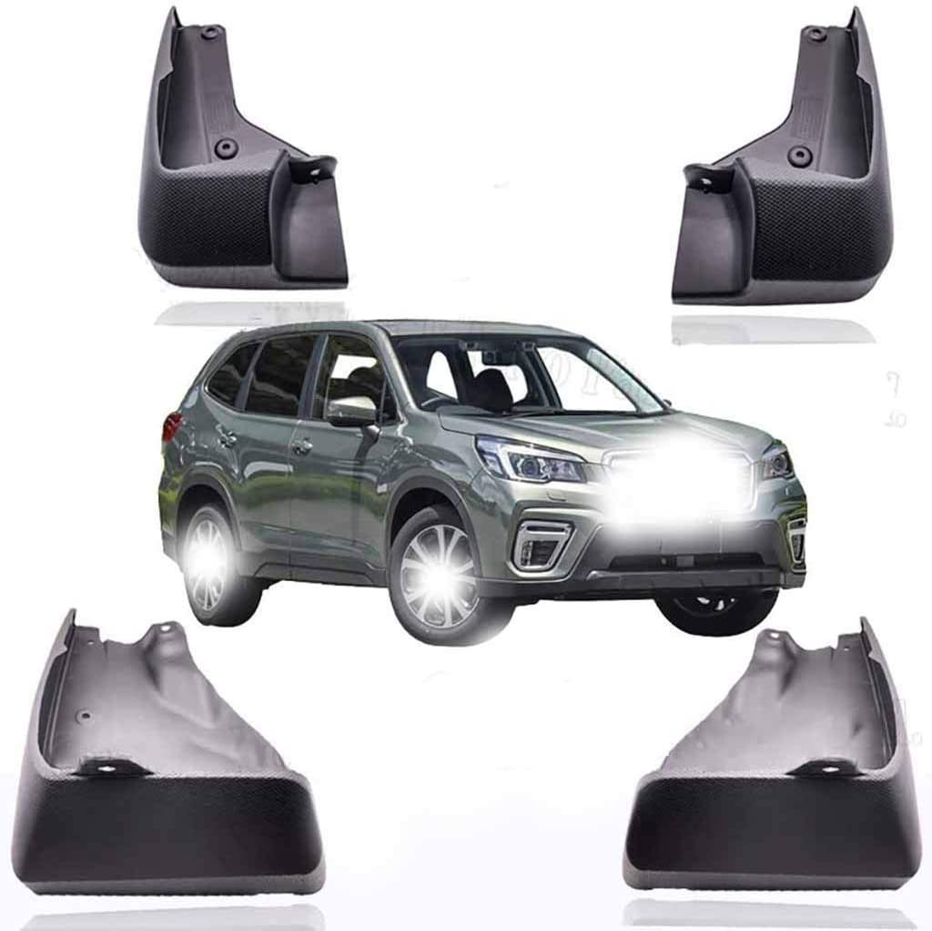 HLHS Sturdy Car Mud Flaps,4pcs for Subaru Forester SK 2018-2020,Front Rear Mudflaps Splash Guards with Fastener Mounting Screws Automotive Fender Styling Accessories 0926