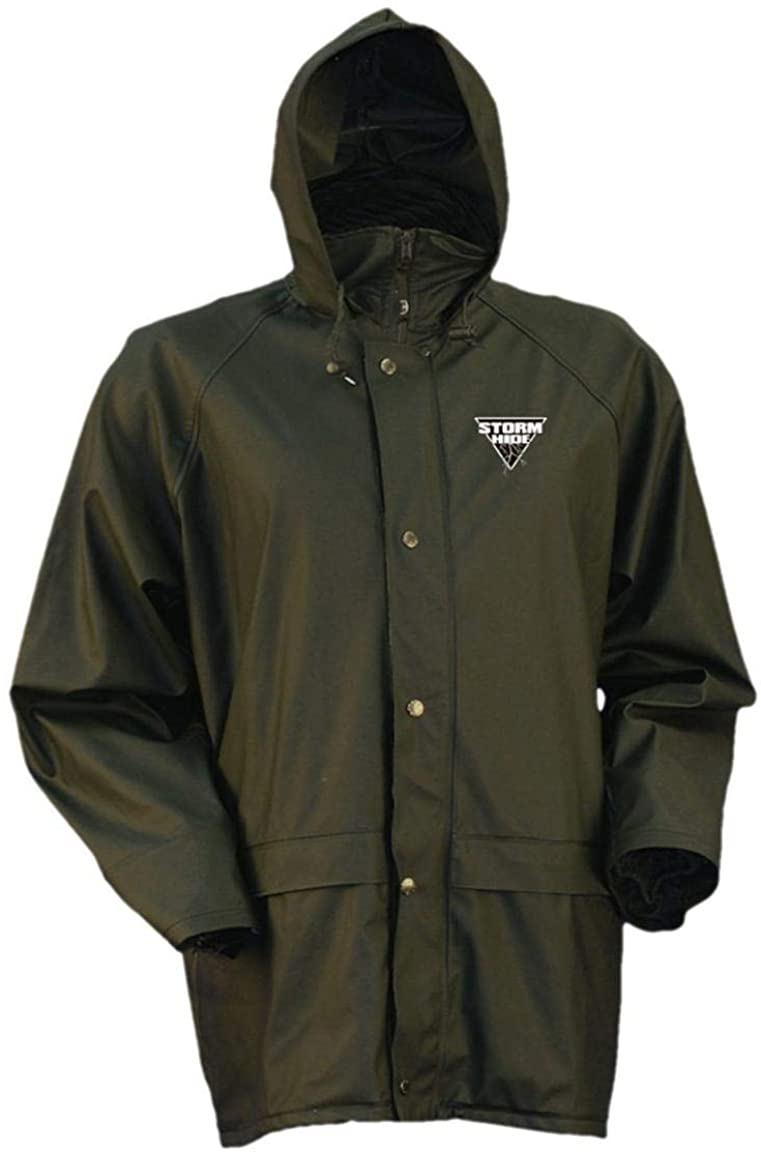 STORMHIDE Waterproof Down Pour Rain Jacket from Gamehide, Loden, Large