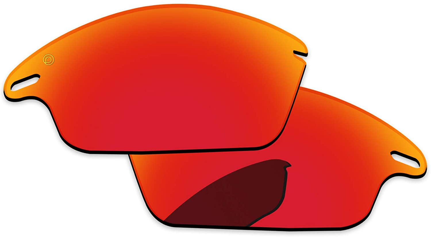 PapaViva Lenses Replacement & Rubber Kits for Oakley Fast Jacket OO9097