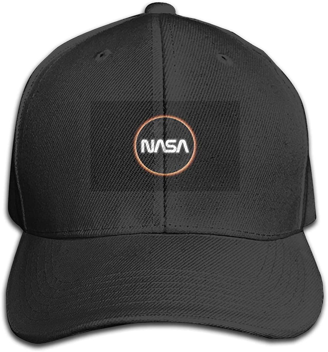 QSMX NASA Bucket Hat Dad Hat Collection Baseball Cap Polo Adjustable Snapback Cap
