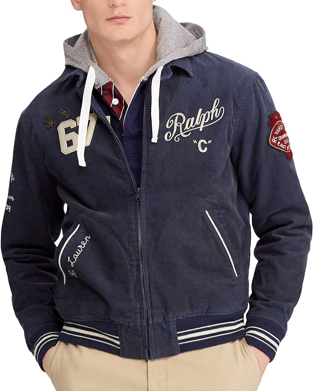 Ralph Lauren Mens Embroidered Jacket