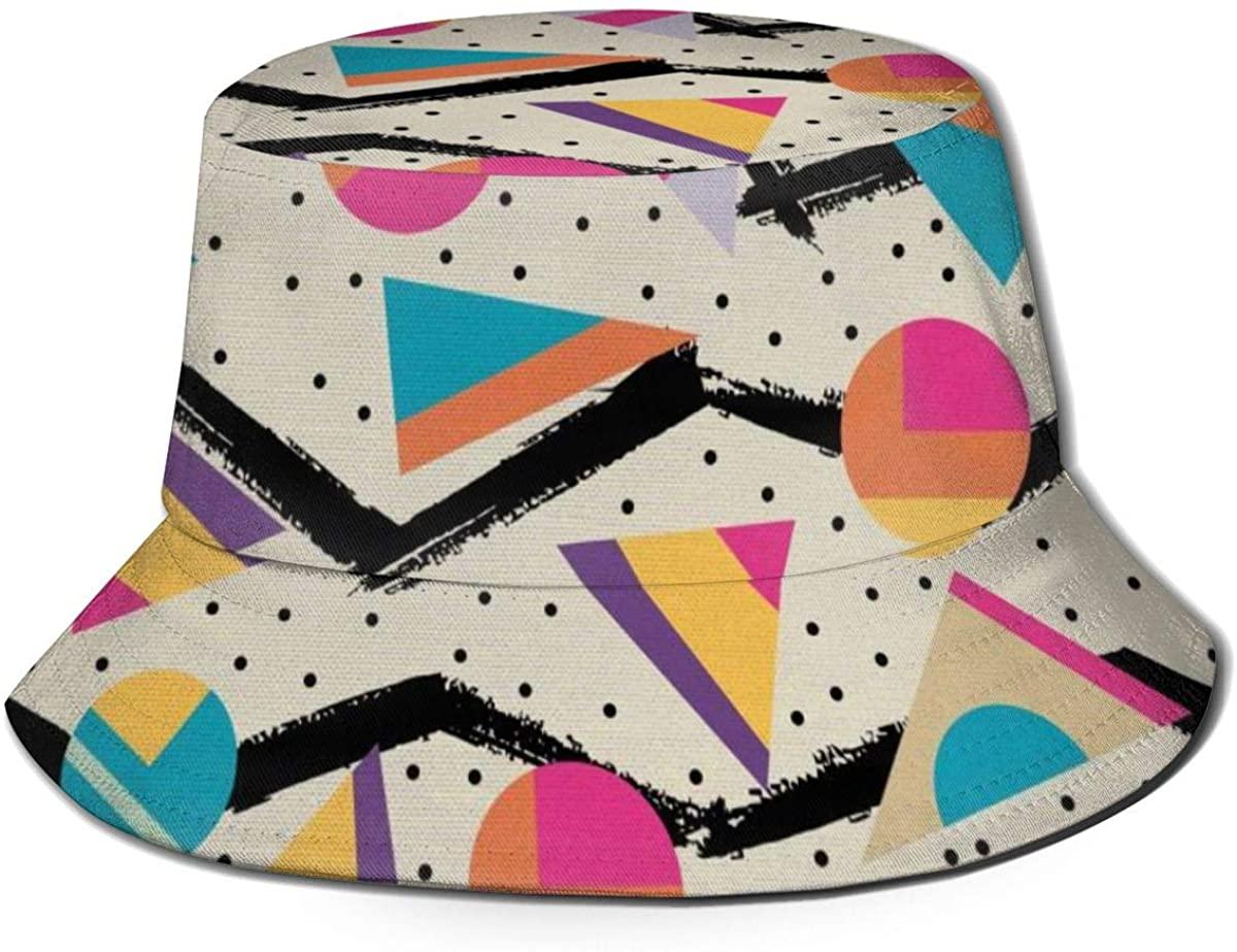 TNIJWMG Bucket Hat Best Tie Dye Fisherman Hats Summer Reversible Packable Cap for Men Women