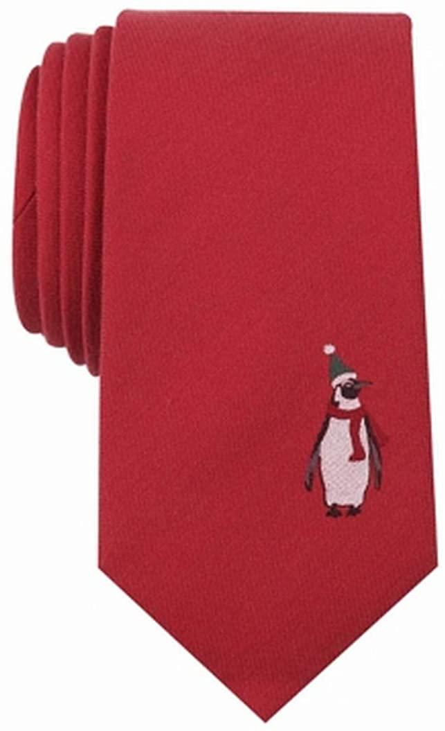 Bar Iii Mens Embroidered Self-Tied Necktie