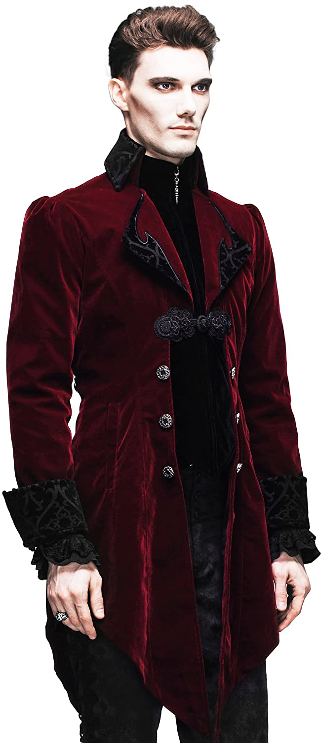 HaoLin Steampunk Coat Gothic Clothing Cyberpunk Clothes Punk Jacket Renaissance Costume