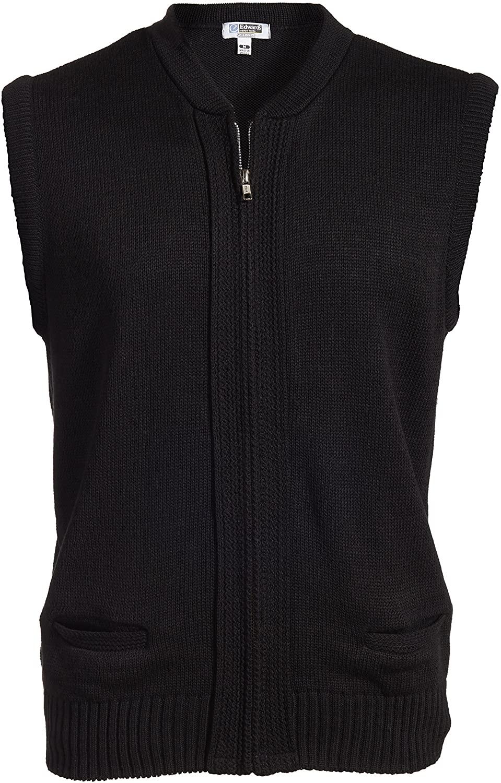 Averill's Sharper Uniforms Unisex Full Zipper Hotel Sweater Vest