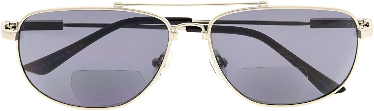 Memory Bifocal Sunglasses Flexible SUNSHINE READERS For Men And Women