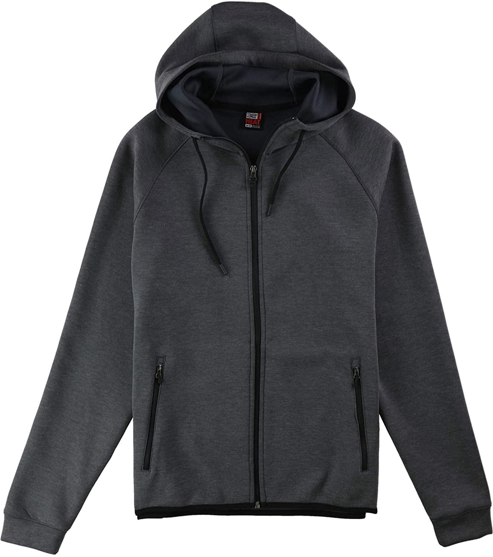 32 DEGREES Men Performance Hooded Jacket-HT Charcoal 1T-XXLarge