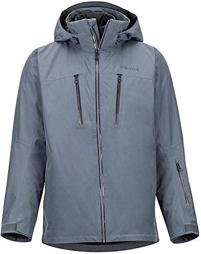 Marmot KT Component 3-in-1 Gore-Tex Ski Jacket Mens Sz M Steel Onyx
