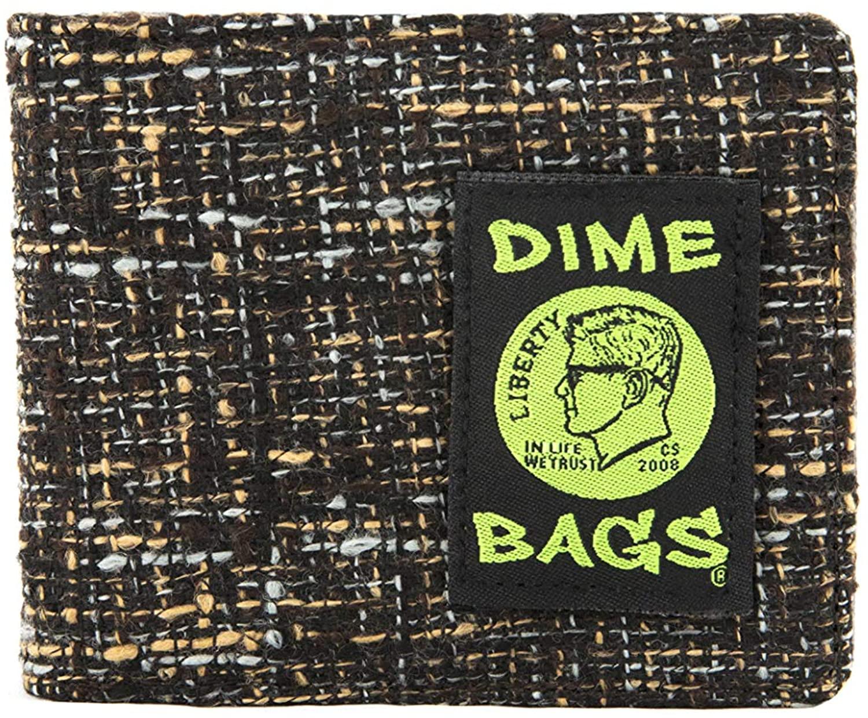 Dime Bags Bi-Fold Hempster Wallet - Classic, Slim Bifold Design w/RFID Protection